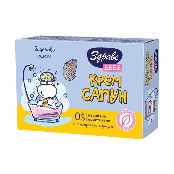 Здраве Сапун бебе-бадемово масло 75 гр.